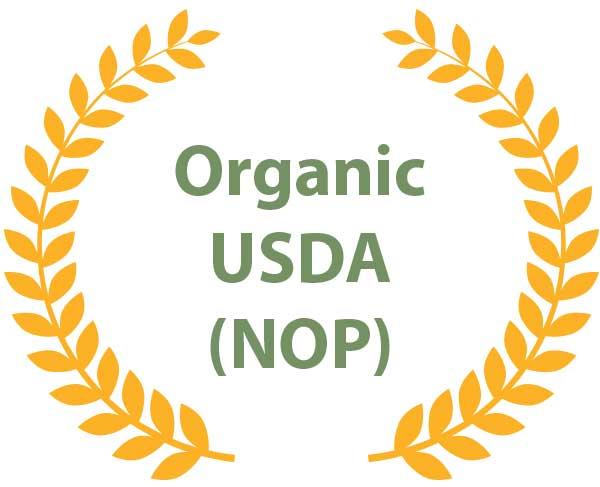 Certification - Organic USDA (NOP)