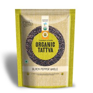 Organic Black Pepper Whole (100gm)