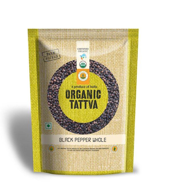 Organic Black Pepper Whole (100gm)