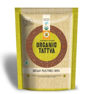 Organic Brown Mustard (Rai)