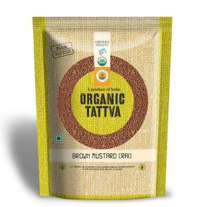 Organic Brown Mustard (Rai)