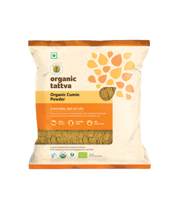 Ground Spices 100gm_Organic Cumin Powder_FOP