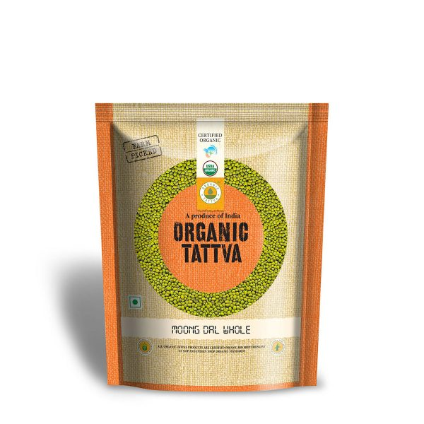 Organic Green Moong Dal
