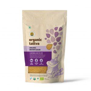 Organic Tattva's Brown Sugar (1kg)