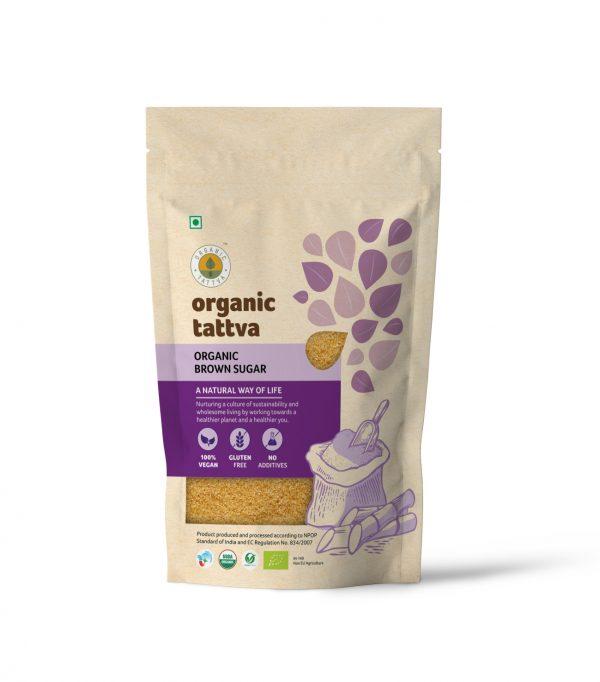 Organic Tattva's Brown Sugar (1kg)