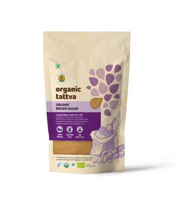 Organic Brown Sugar (500gm)