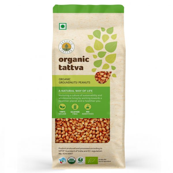 Organic Groundnut (500gm)