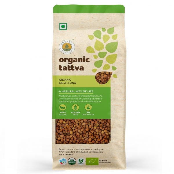Organic Kala Chana (500gm)