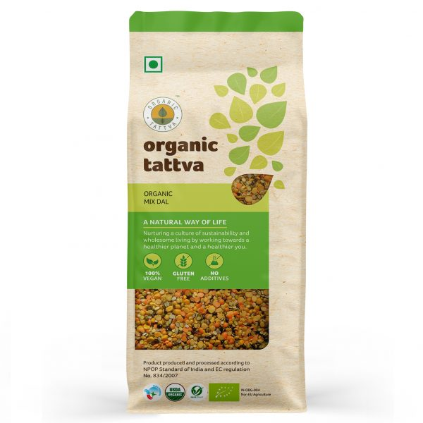 Organic Mix Dal (500gm)