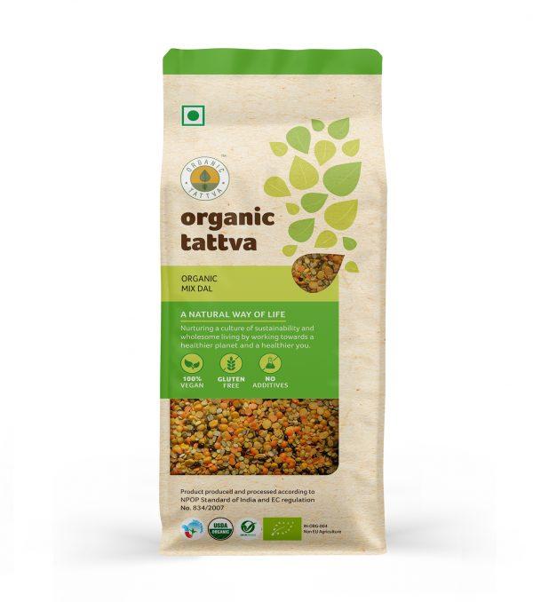 Organic Mix Dal (500gm)