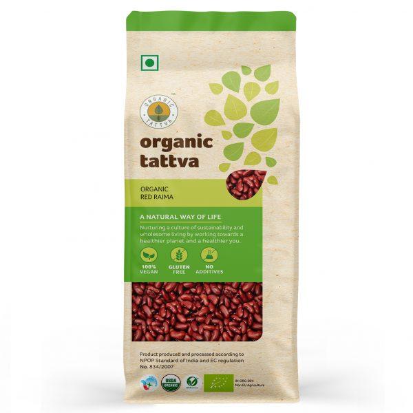 Organic Red Rajma (500gm)