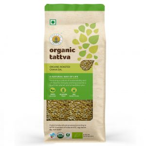 Organic Roasted Chana Dal (500gm)