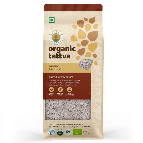 Organic Ragi Flour (500gm)