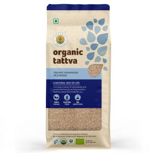 Organic Sonamasuri Brown Rice (1kg)