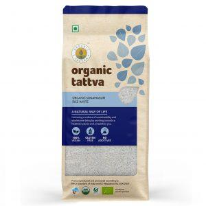 Organic Sonamasuri White Rice (1kg)