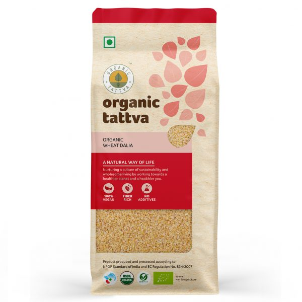 Organic Wheat Dalia (500gm)