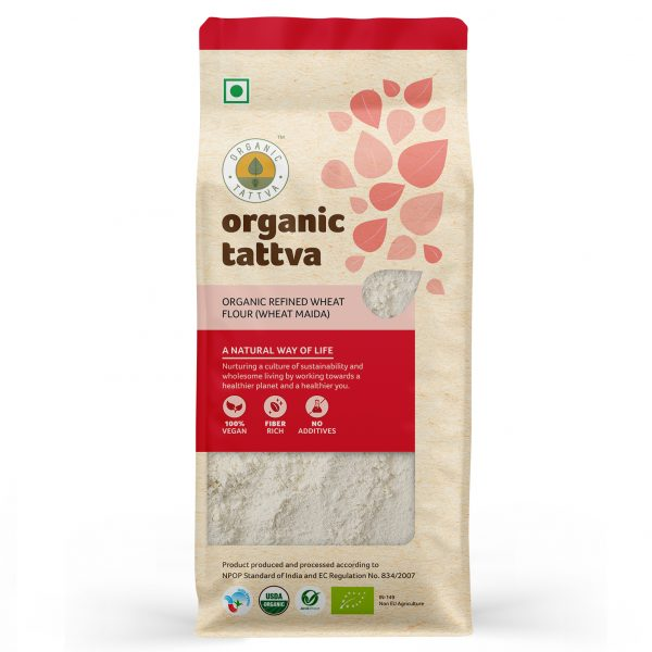 Organic Wheat Maida (500gm)