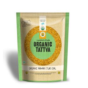 Buy Organic Tur/ Arhar Dal Online (1 kg)