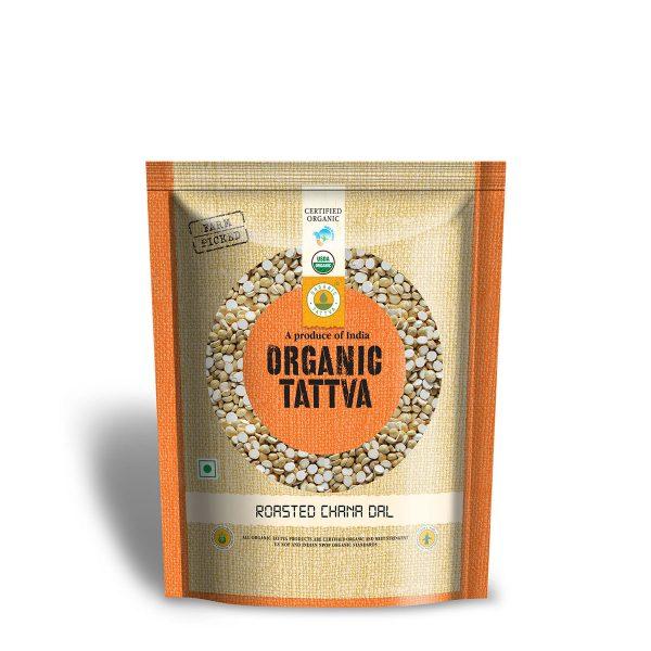 Organic Roasted Chana