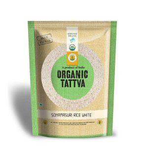Organic White Sonamasuri Rice 1kg