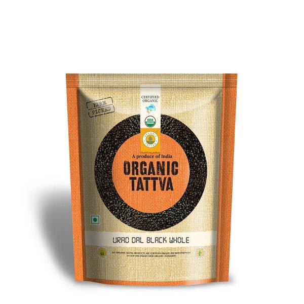 Organic Black Lentils