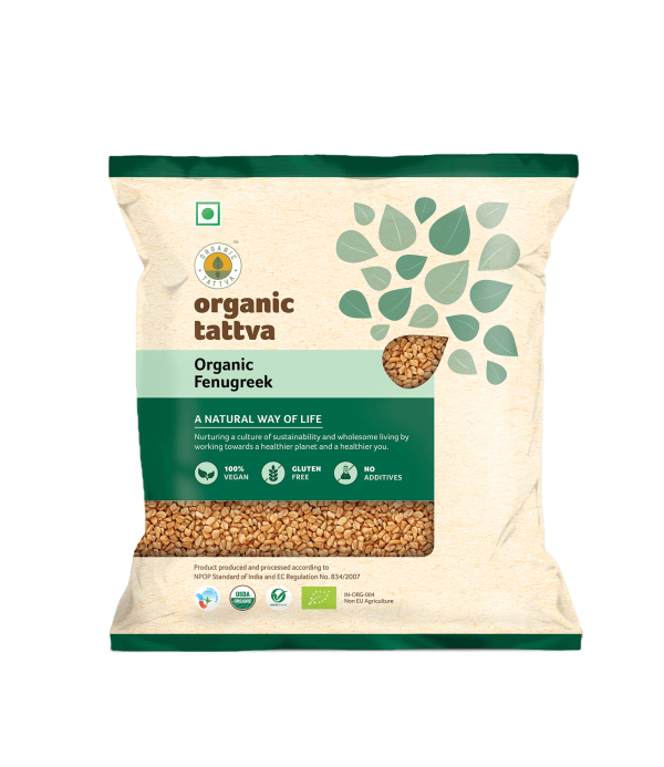 Organic Fenugreek (100gm)