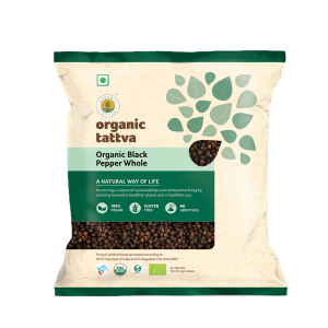 Organic Black Pepper Whole (100g)