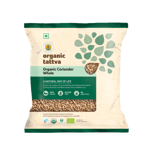 Organic Coriander Whole (100gm)