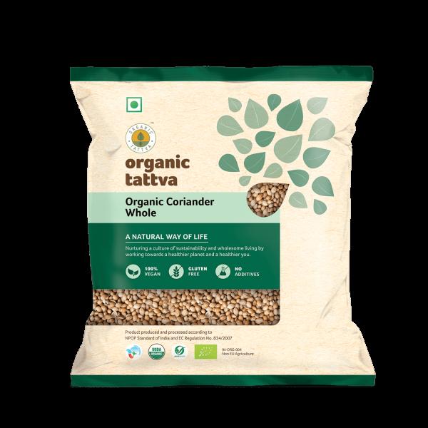 Organic Coriander Whole (100gm)