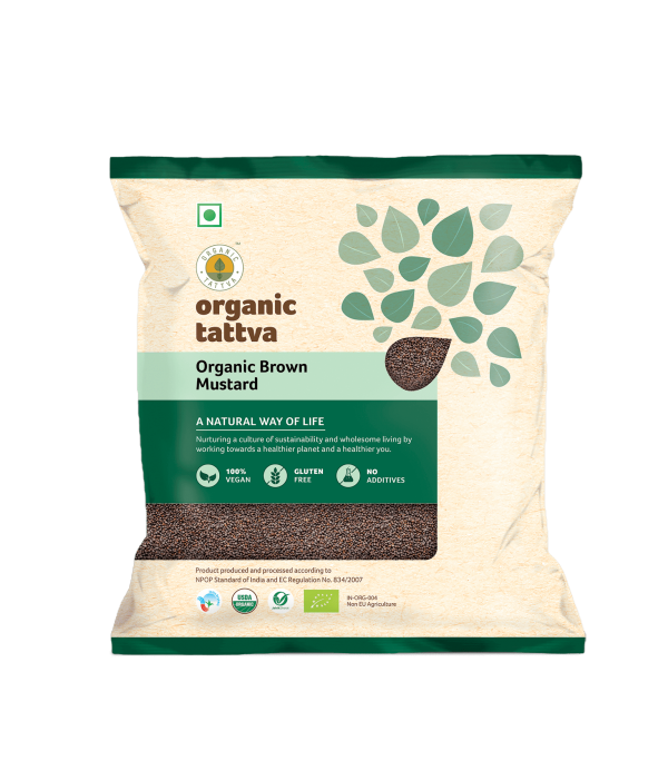 Organic Brown Mustard (Rai) (100gm)