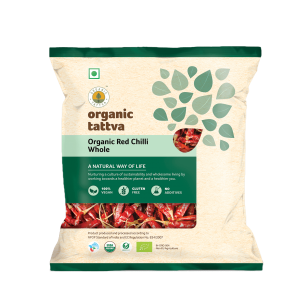 Organic Red Chilli Whole (100gm)