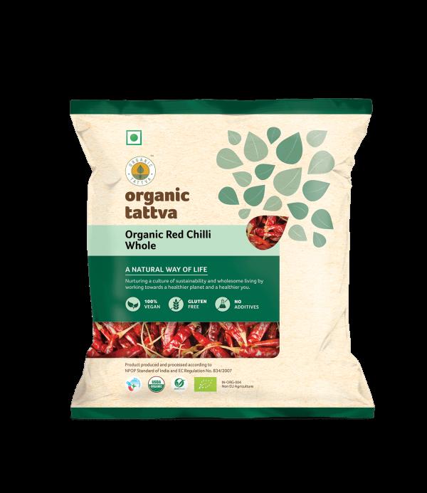 Organic Red Chilli Whole (100gm)