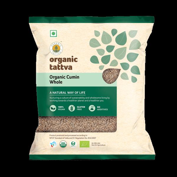 Organic Cumin Whole (200gm)
