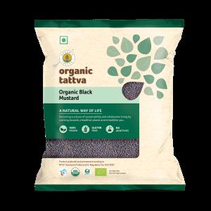 Organic Black Mustard (200gm)