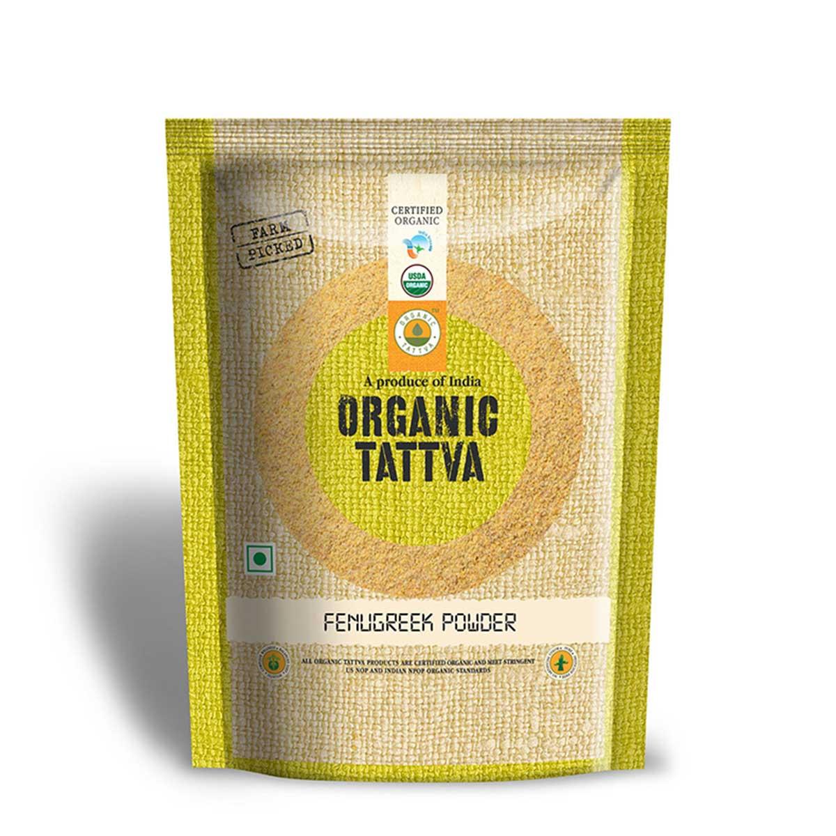 Organic Methi Powder - Buy Organic Fenugreek Powder at Best Price In