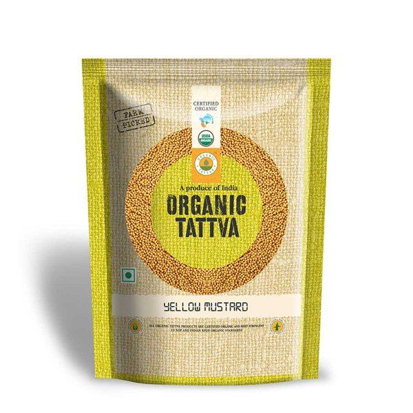 Organic Yellow Mustard