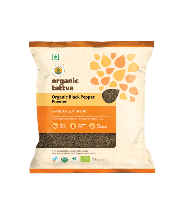 Organic Black Pepper Powder (100gm)