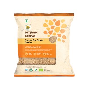 Ground Spices 50gm Organic Dry Ginger Powder_FOP