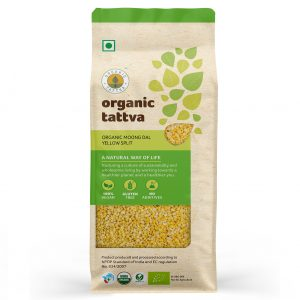 Organic Moong Dal Yellow Split (500gm)