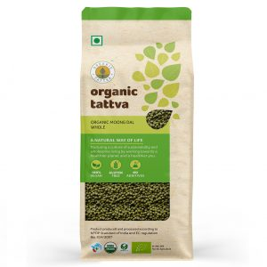 Organic Moong Dal Whole (500gm)