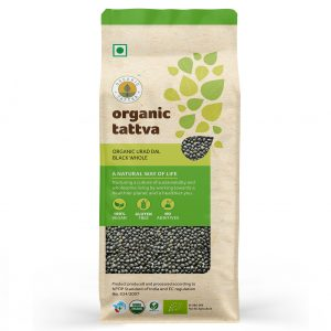 Organic Urad Dal Black Whole (500gm)