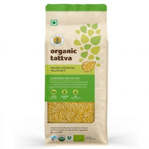 Organic Moong Dal Yellow Split (1kg)