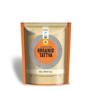 Organic Rice Rava Idli