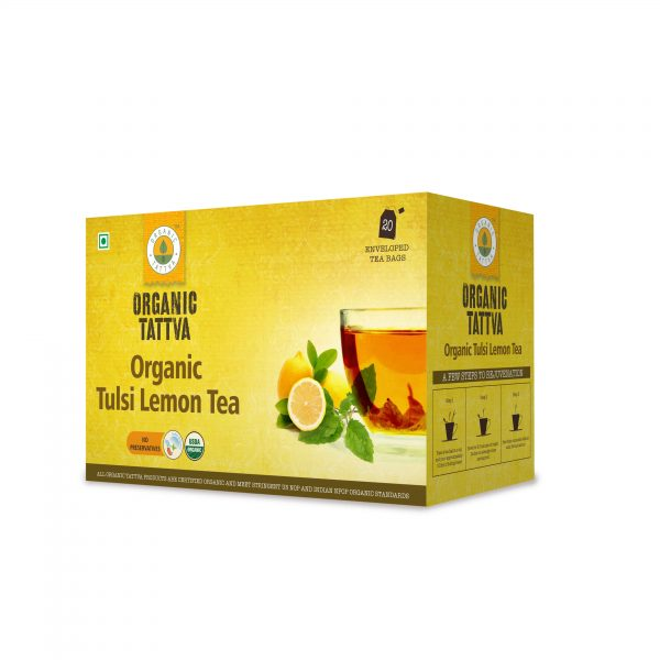Organic Tulsi Lemon Tea