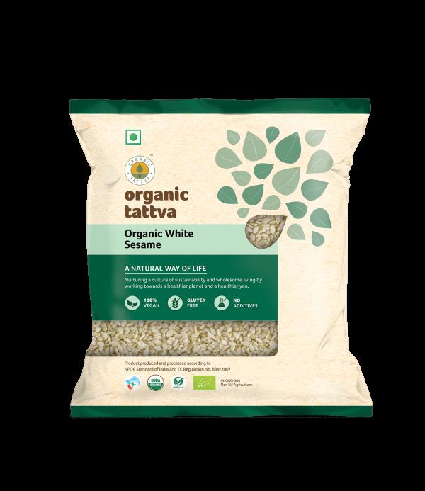Organic White Sesame (100gm)