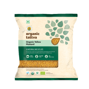 Organic Yellow Mustard (100gm)