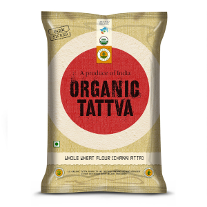 Buy Organic Whole Wheat Flour/Chakki Atta (5Kg)