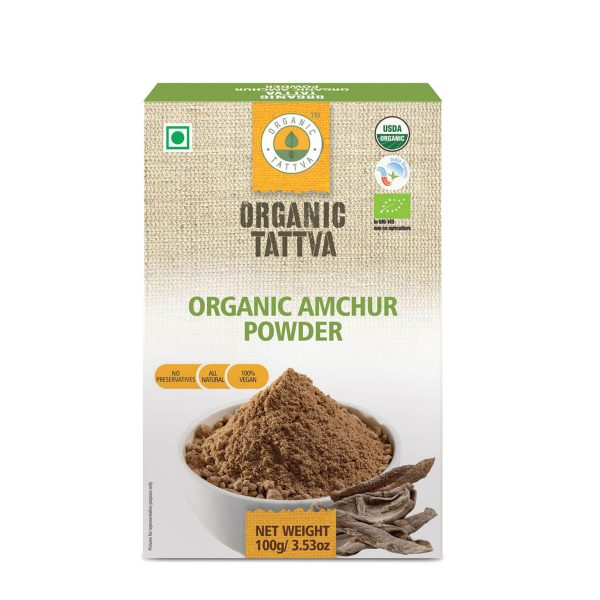 Organic Tattva's Amchur (Dry Mango) Powder