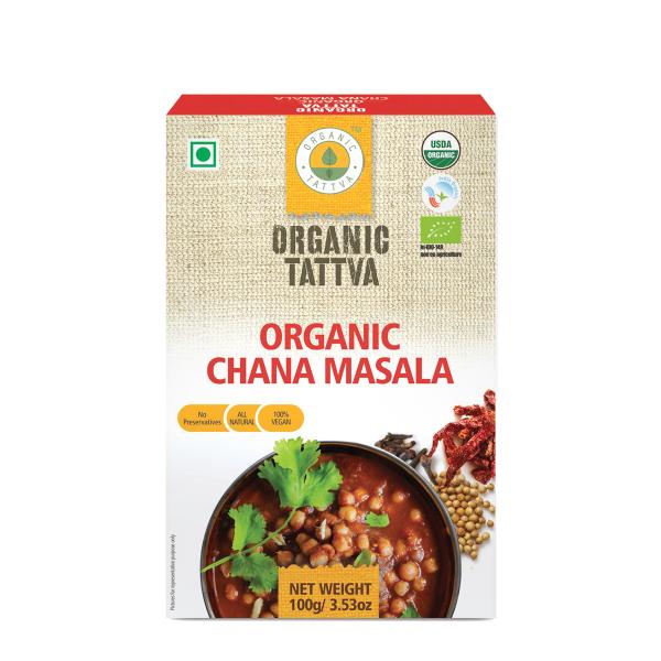 Organic Chana Masala Powder