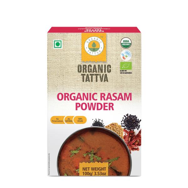 Organic Tattva's Rasam Powder